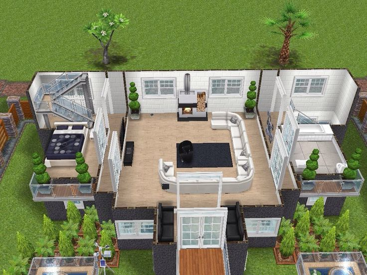 House 74 level 2 #sims #simsfreeplay #simshousedesign