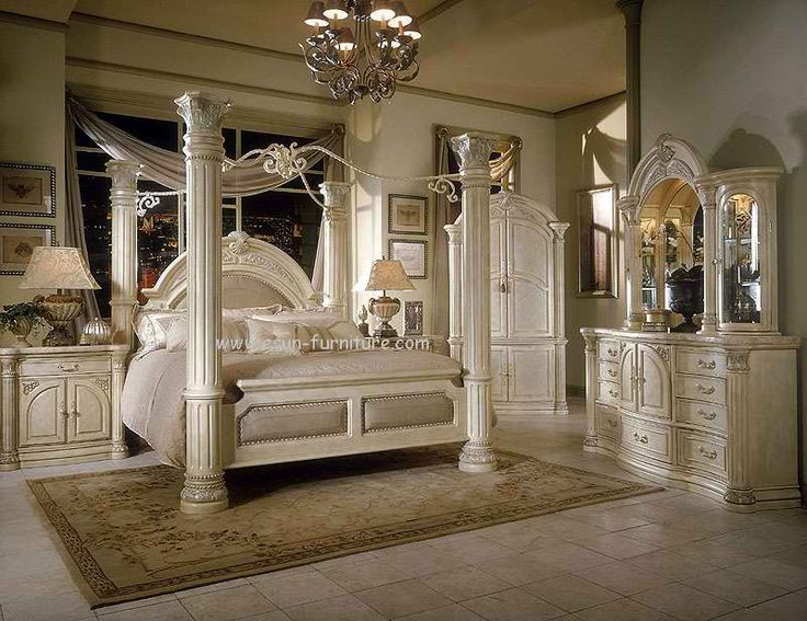 17 best images about redoing our bedroom ideas on for Elegant white bedroom furniture