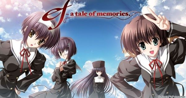 Sinopsis Anime Ef A Tale Of Memories Anime Tales I Love Anime