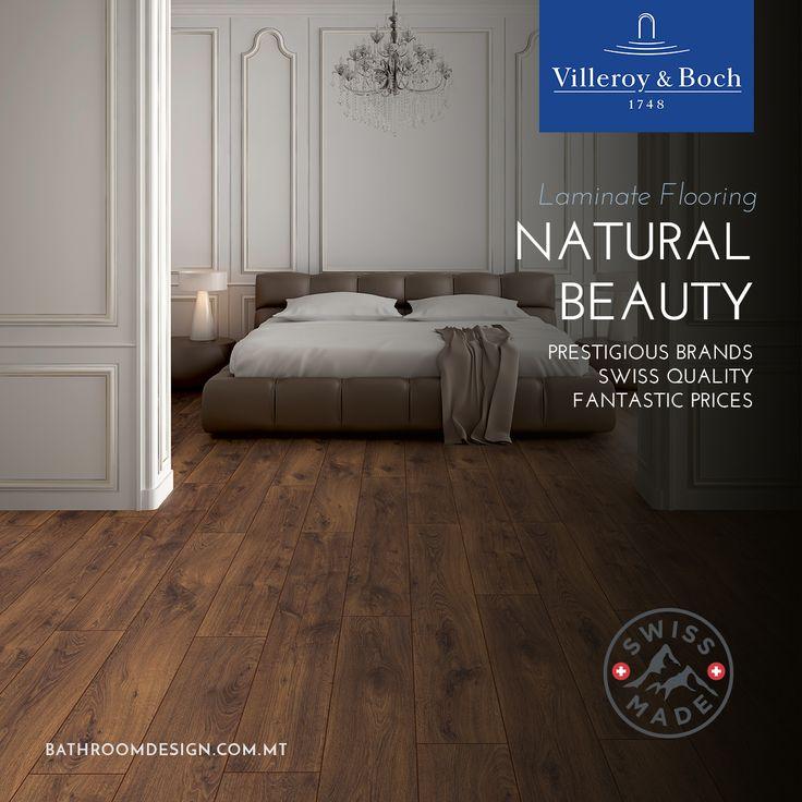 Beautiful laminate flooring solutions available at Bathroom Design: https://www.bathroomdesign.com.mt/products/flooring.html