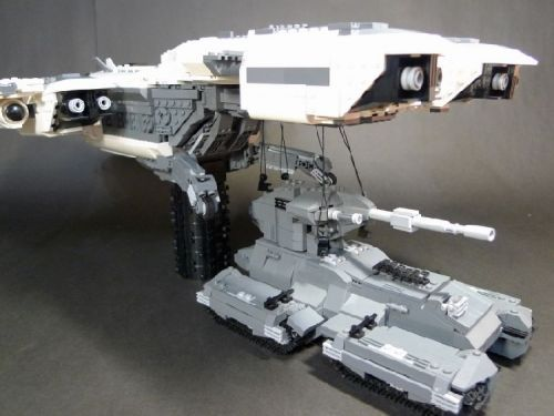 HALO -- Pelican: A LEGO® creation by Stephen Chao : MOCpages.com