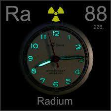 Radio Elemento quimico - 88 Ra