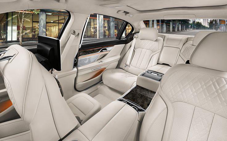 Üst düzey konfor. BMW 7 Serisi Sedan.