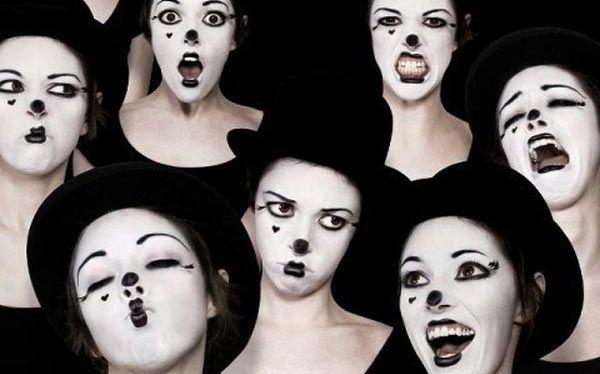 DIY Mime Costume - maskerix.com