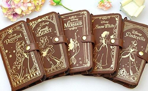 Disney Cinderella Old Book Leather Case for iPhone6 from Japan from Amazon. Saved to Cute stuff.