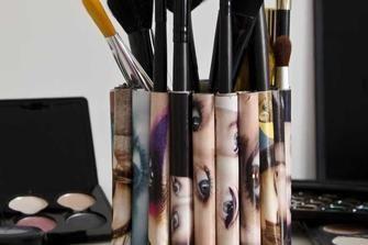 Come personalizzare un porta pennelli per make-up