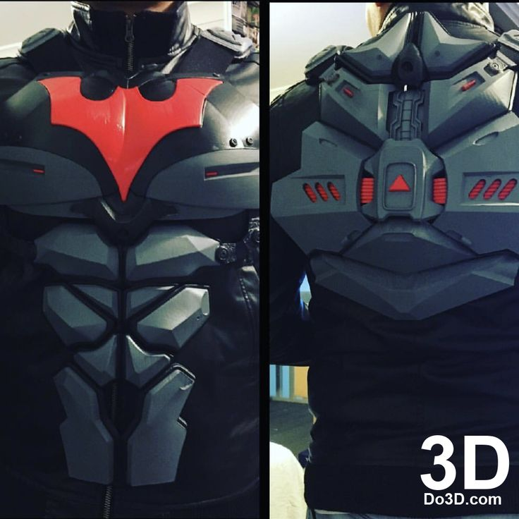 3D Printable Model: Batsuit Armor from Batman Beyond | Print File Format: STL – Do3D.com