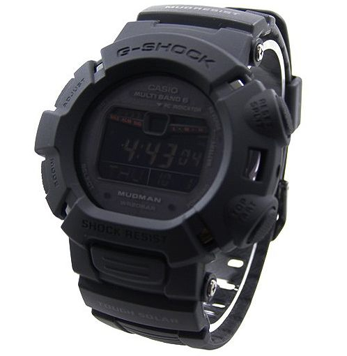 Daaamn! This is the coolest G Shock i've ever seen. Must have! G Shock Mudman in Matte Black.