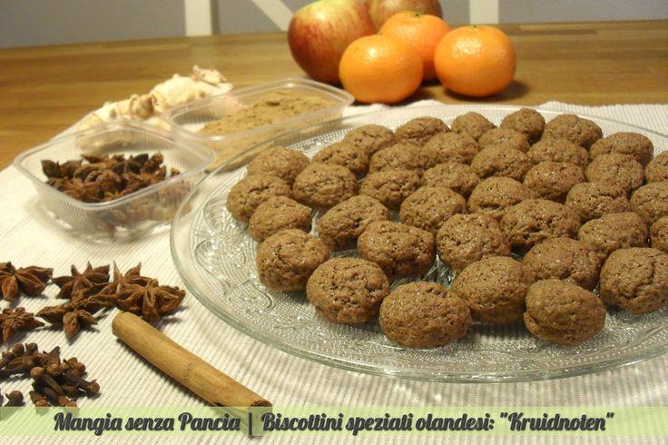 "Biscottini speziati ""Kruidnoten"", ricetta olandese"