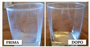 A chi di noi non è mai capitato che tirando fuori i bicchieri, dopo il lavaggio, trovarli talmente opachi da sembrare ancora sporchi? Neppure l'uso del bri