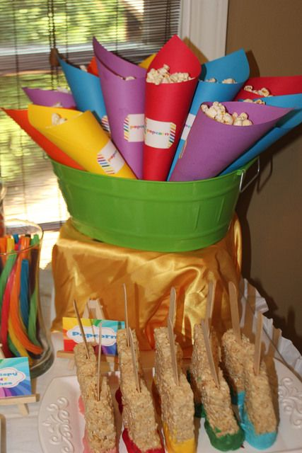 """Photo 11 of 16: Art Party / Summer """"Rainbow Art Party""""   Catch My Party"""