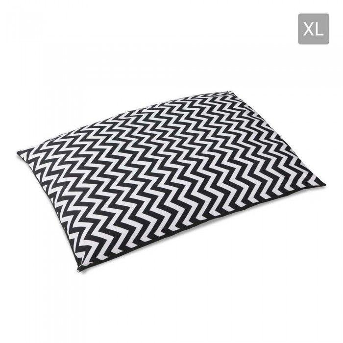 Washable Wavy Stripe Heavy Duty Pet Bed - XL