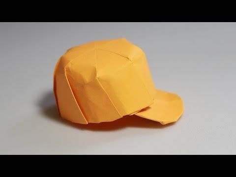 [Diagram] How to make an origami hat - origami snapback (Henry Phạm) - YouTube