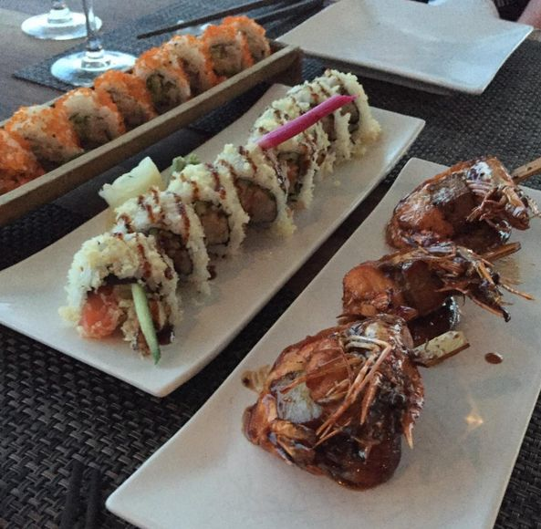 """Our chef's delicious #sushi creations from UMI Japanese & Sushi #Bar #Restaurant at Grecian Park Hotel Cyprus. Photo credit:  """"Rimahannover"""" via TripAdvisor.  http://bit.ly/1IKHt2W #food #foodie #yummy #Japanese #cuisine"""