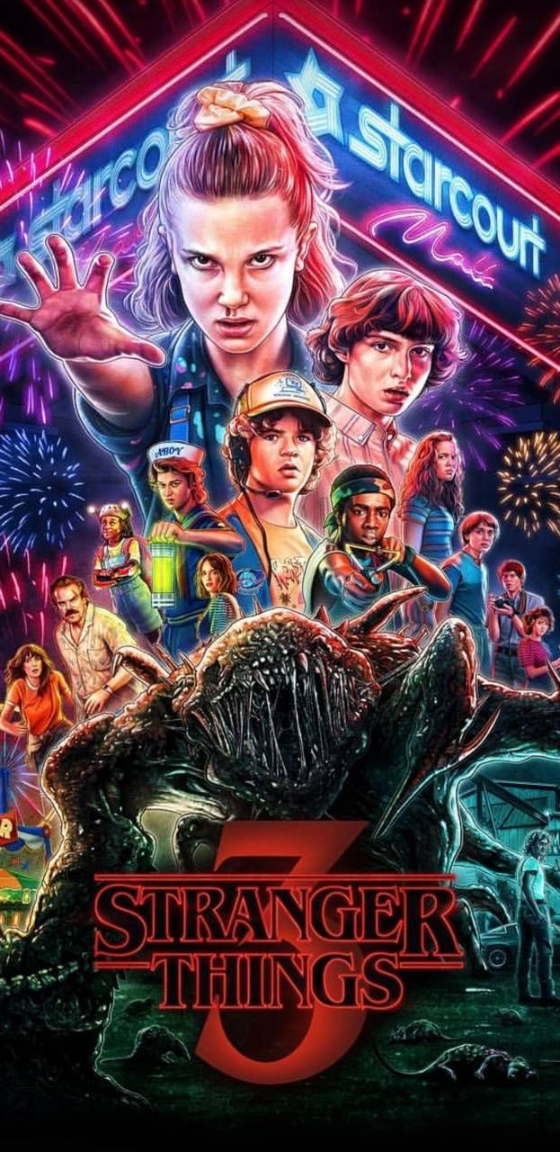 Stranger Things Wallpaper For Mobile Phone Tablet Desktop Computer And Other Devices Hd Stranger Things Wallpaper Stranger Things Art Eleven Stranger Things