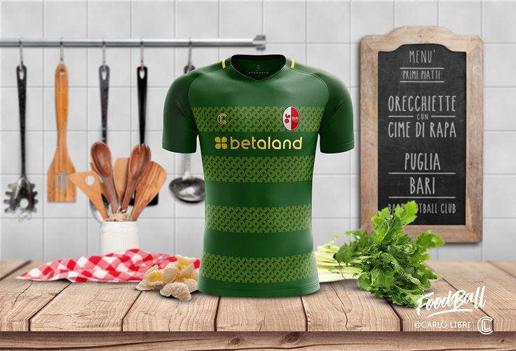 FOODBALL   Italian football jerseys inspired by food on Behance