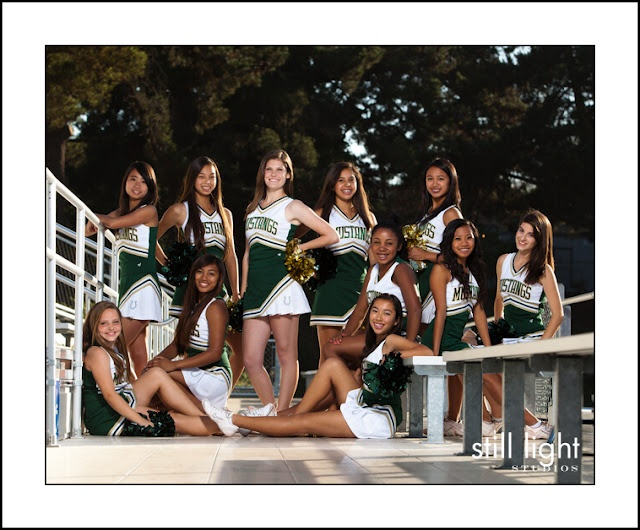 I want cheer pictures like this for my jr high squad! by Still Light Studios