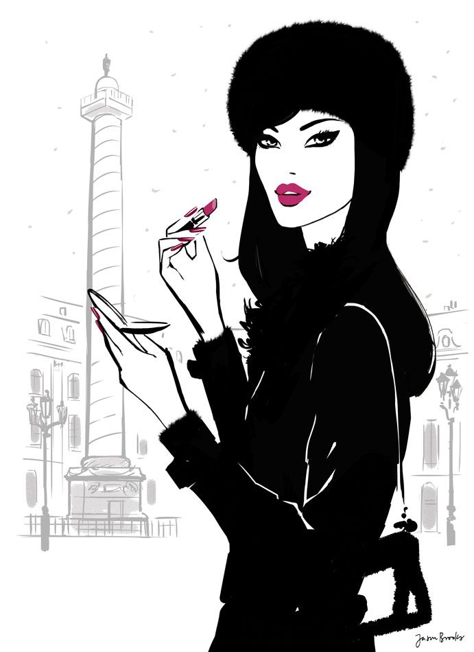 Folio illustration agency, London, UK | Jason Brooks - Fashion ∙ Glamour ∙ Architecture ∙ Lifestyle ∙ Vector - Illustrator