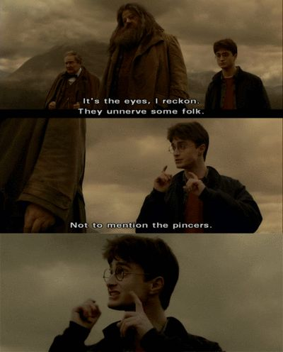 When Harry took Felix Felicis and he was basically high.   45 Times Harry Potter Fans Lost Their Cool At The Movie Theater