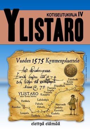 Local History Book Ylistaro, Finland.
