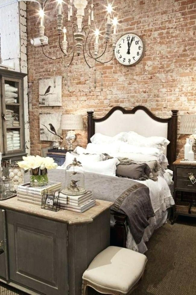 White Brick Bedroom The Ideas On A Budget Love Wall I Thought
