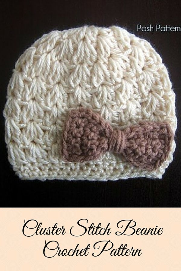 Crochet PATTERN - Crochet Hat Pattern - Crochet Pattern Baby - Baby Hat Pattern…