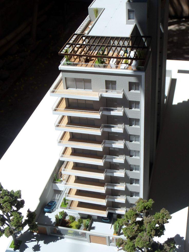 Maqueta edificio Lanus