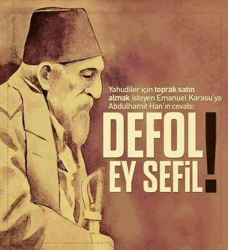Defol ey sefil ! #AbdülhamidHan #OsmanlıDevleti