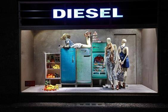 df527f539f diesel window display | WINDOWS. in 2019 | Store window displays, Diesel  store, Store displays