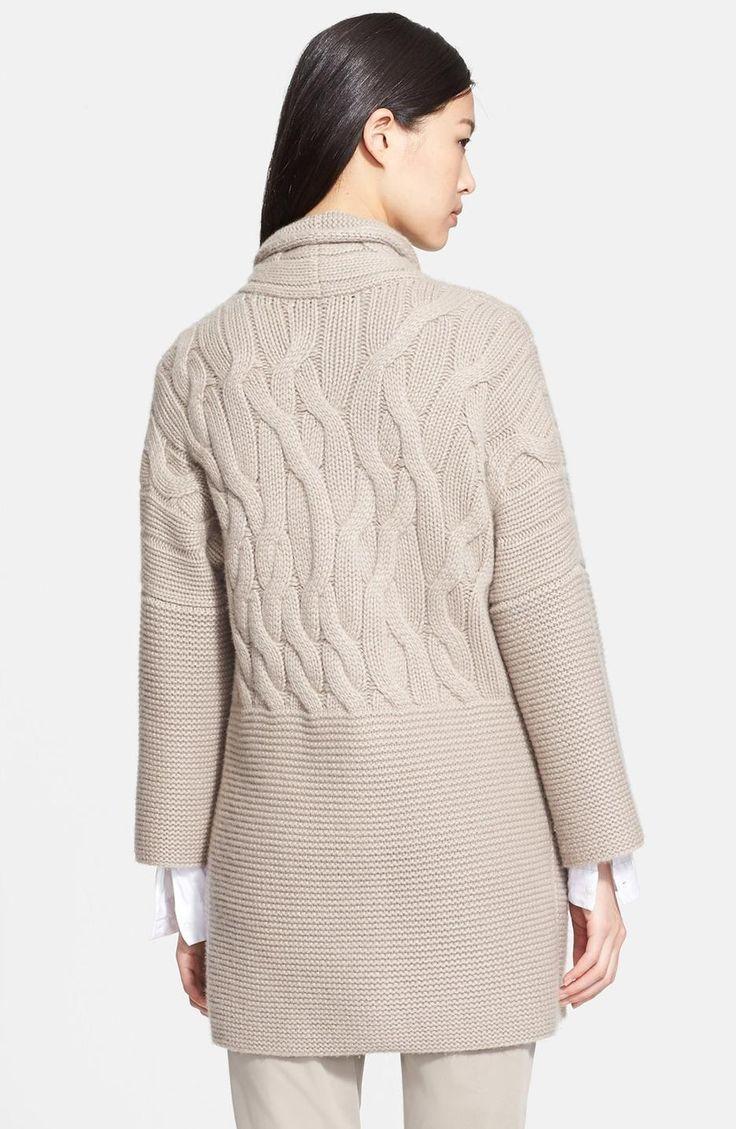 taupe-fabiana-filippi-cable-cashmere-sweater-coat-screen