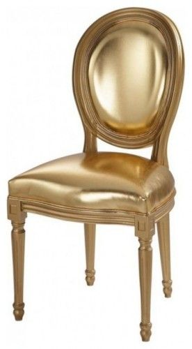 #chair #gold