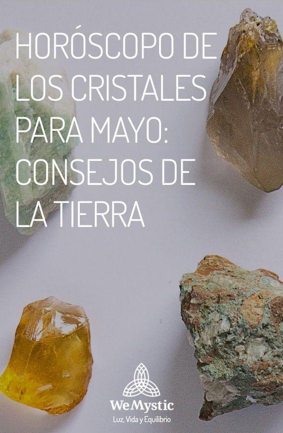 Las gemas y piedras son el más energético regalo de la madre Tierra, y la lectura de horóscopo del de los cristales para mayo 2020 traen mensajes también cargados de energía para ti. Cada semana se verá influenciada por un cristal, que nos ayudará a trasegar por este mes, fluyendo con la energía necesaria para que podamos alcanzar nuestros objetivos. Mayo, Mother Earth, Gems, Rocks, Reading, Crystals, Tips