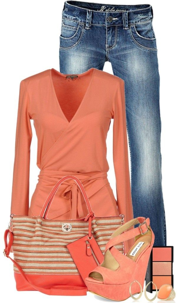 Love this outfit, especially the wrap top! Stitch fix please find a top like this for me!