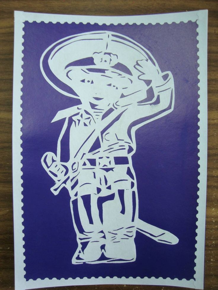 открытки из бумаги на 23 февраля вырезание дерева