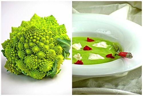 Vellutata di broccolo romanesco