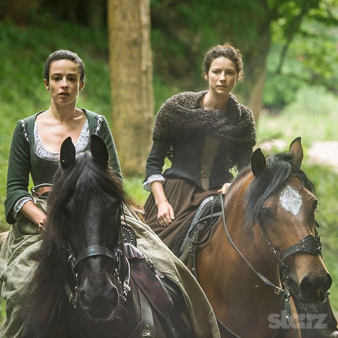 *New* Stills of Caitriona Balfe, Laura Donnelly and Duncan Lacroix in Outlander Episode 1×14 'TheSearch'