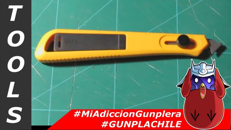 #MAG - Tools - Plastic Scriber - Olfa #GunplaChile