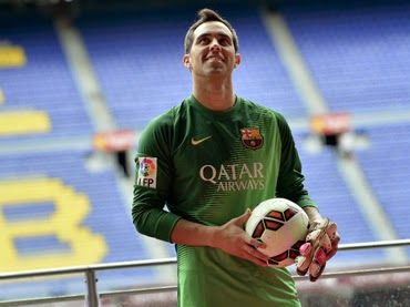 SEMANARIO BALUN CANAN: Barcelona presenta al arquero Claudio Bravo