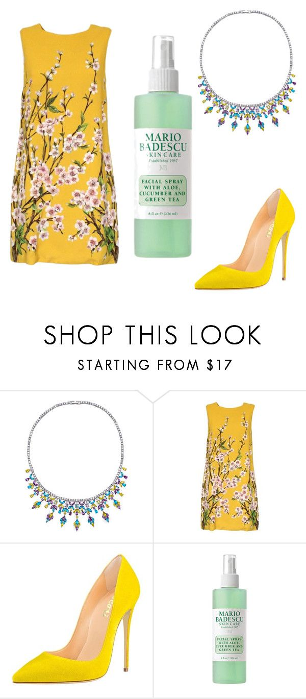 """""""Untitled #327"""" by denysa-boldog on Polyvore featuring Fallon, Dolce&Gabbana and Mario Badescu Skin Care"""
