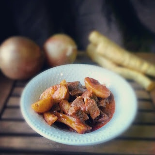 Beef Stew with Potatoes and Parsnips | Health Foods | Pinterest