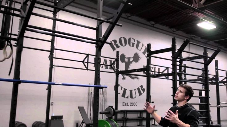 The New Rogue Fitness HQ Gym