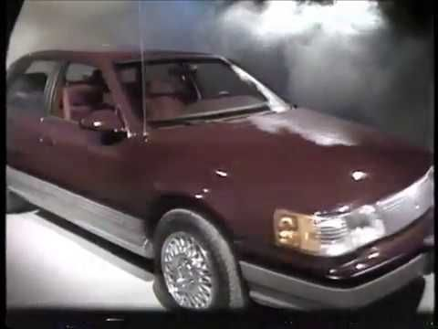 Found Cool Runnings inspiration in an '88 Mercury Sable commercial