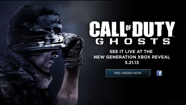 Gaming News - Call of Duty: Ghosts officially announced with teaser trailer | GES SA