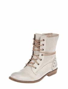 Mustang comfortabele veterschoen van Mustang - Damesschoenen - Dames veterschoenen - Veterschoenen hoog - Schuurman Schoenen | Dat past me wel - www.schuurman-schoenen.nl