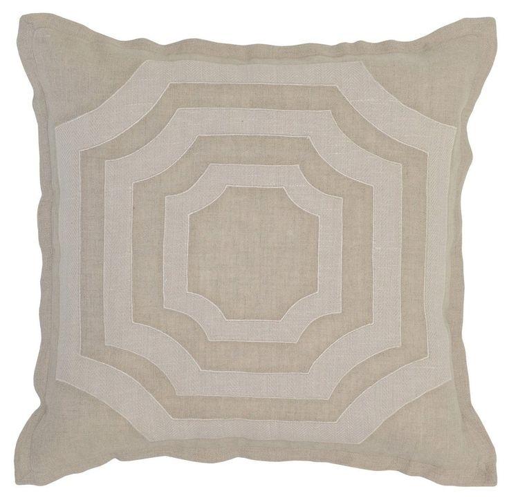 MC Miller Natural and Bone Pillow