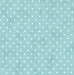 8654-66 - Essential Dots (Teal) // Moda Fabrics at Juberry