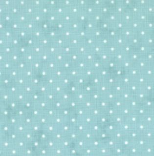 8654-66 - Essential Dots (Teal) // Moda Fabrics at Juberry