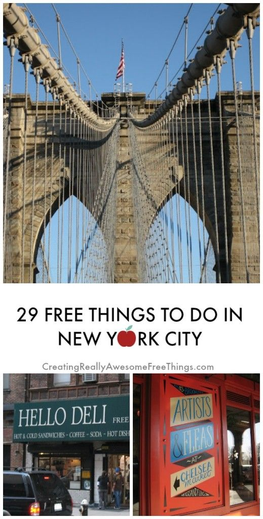 Things to do in New York City for free!!!