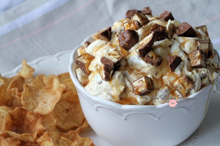 Snickers Cheesecake Dip5