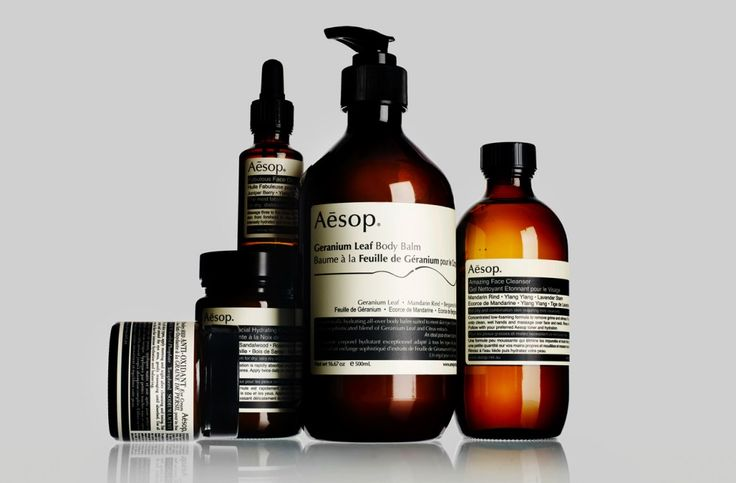 The Aesop brand is committed to including the highest-quality plant-based ingredients and makes judicious use of non-botanical elements such as anti-oxidants. All Aesop skin care products are designed for use from forehead to chest and contain very few preservatives to comply with your skin's needs. Aesop products are available at Aesop online.
